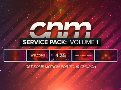 SERVICE PACK: VOLUME 1