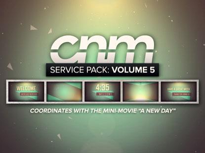 SERVICE PACK: VOLUME 5