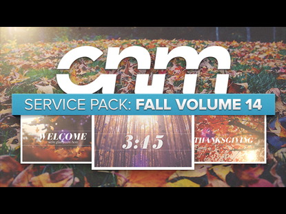 SERVICE PACK: FALL VOLUME 14