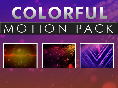 COLORFUL MOTION PACK