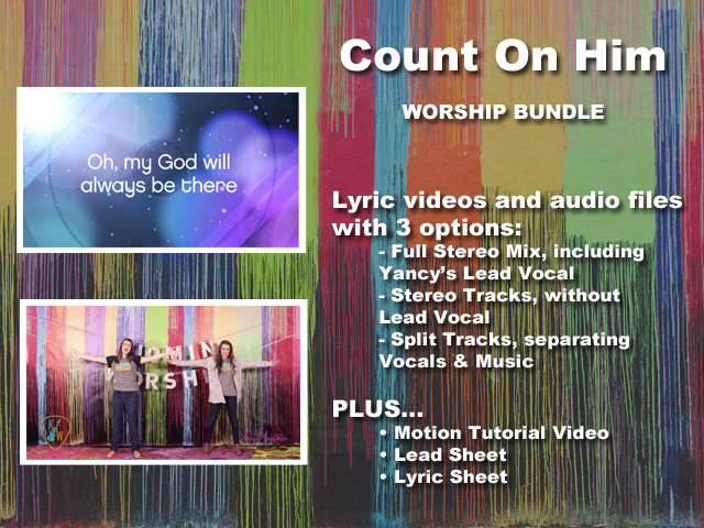 COUNT ON HIM BUNDLE