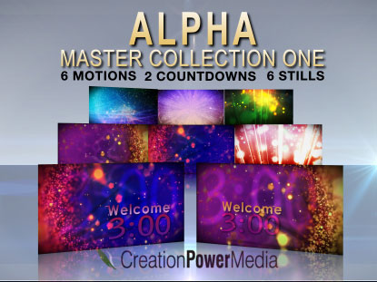 ALPHA MASTER COLLECTION 1