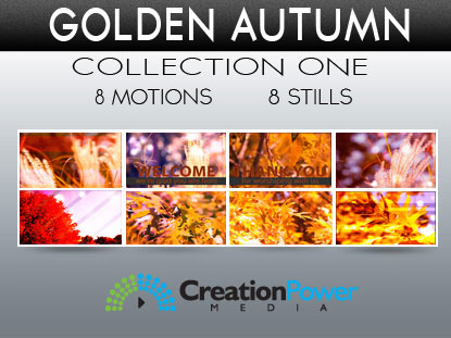 GOLDEN AUTUMN COLLECTION ONE