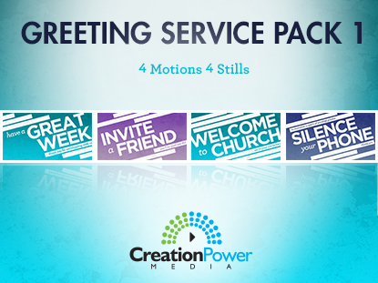 GREETING SERVICE PACK 1