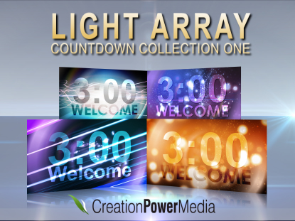 LIGHT ARRAY COUNTDOWN COLLECTION 1