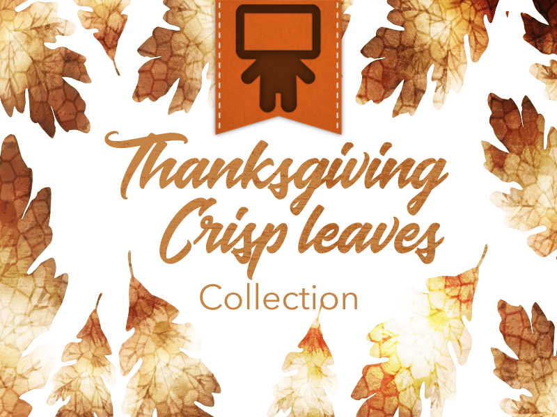THANKSGIVING CRISP LEAVES COLLECTION