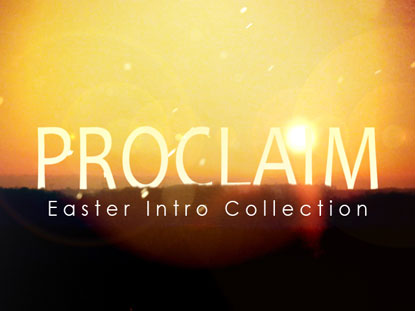 PROCLAIM EASTER INTRO COLLECTION