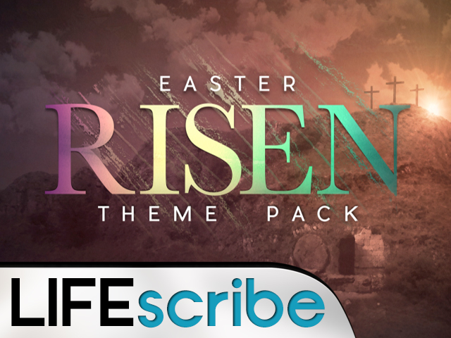 EASTER RISEN THEME PACK