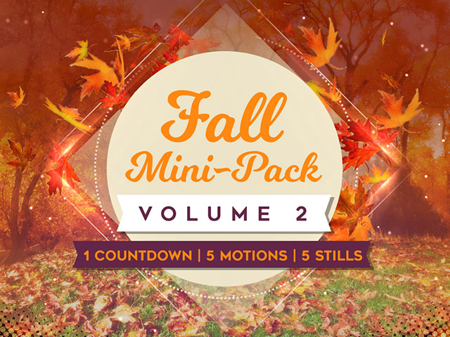 FALL MINI-PACK VOLUME 2