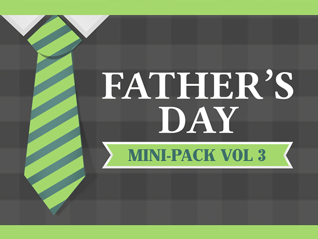 FATHER'S DAY MINI-PACK, VOL 3