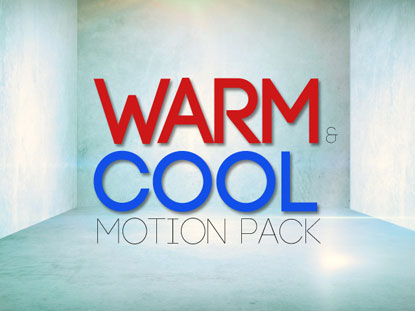 WARM AND COOL MOTIONS PACK