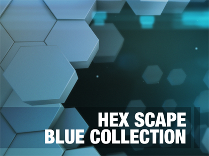 GEO SCAPE BLUE COLLECTION