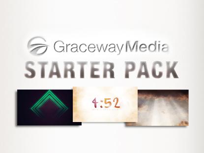 GRACEWAY MEDIA STARTER PACK
