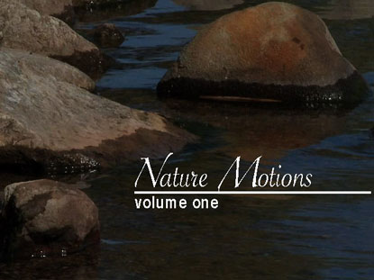 NATURE MOTIONS VOLUME 1