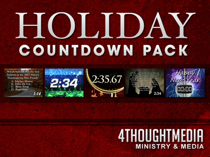 HOLIDAY COUNTDOWN PACK