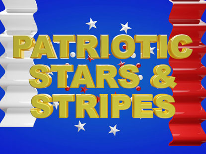 PATRIOTIC STARS AND STRIPES COLLECTION