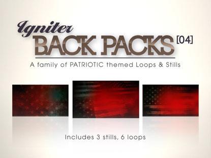 BACK PACKS 04: PATRIOTIC