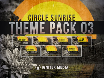 THEME PACK 03: CIRCLE SUNRISE