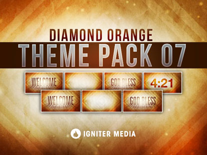 THEME PACK 07: DIAMOND ORANGE