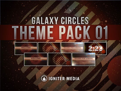 THEME PACK 01: GALAXY CIRCLES