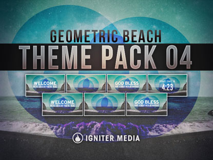 THEME PACK 04: GEOMETRIC BEACH