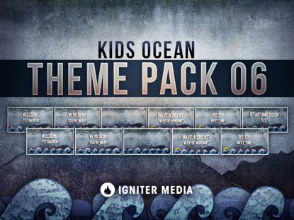 THEME PACK 06: KIDS OCEAN