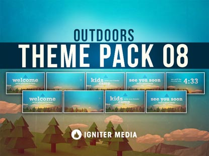 THEME PACK 08: OUTDOORS