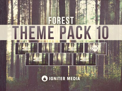 THEME PACK 10: FOREST