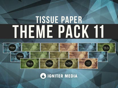 THEME PACK 11: TISSUE PAPER