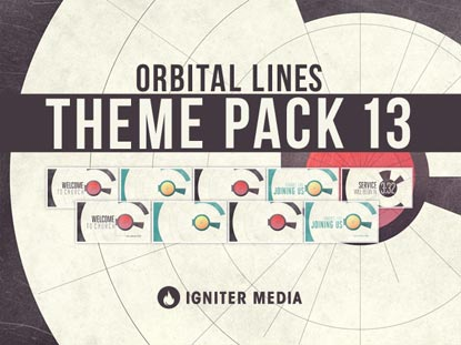 THEME PACK 13: ORBITAL LINES