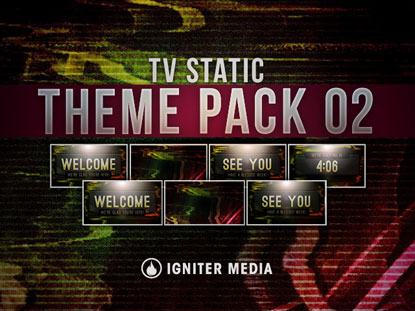 THEME PACK 02: TV STATIC