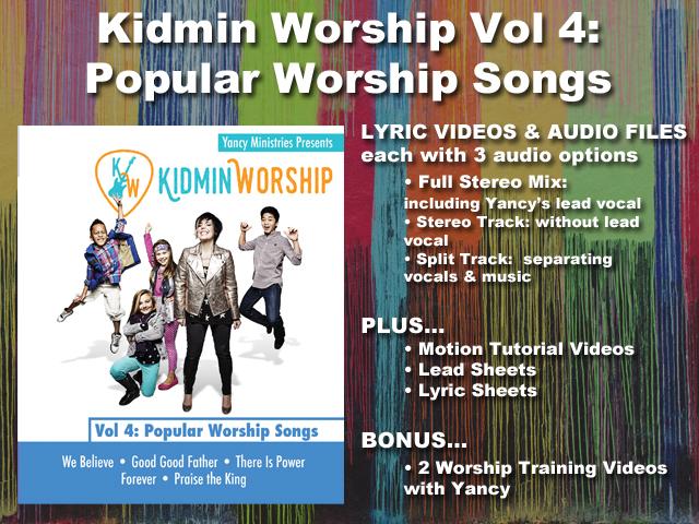 KIDMIN WORSHIP VOL 4: POPULAR WORSHIP SONGS