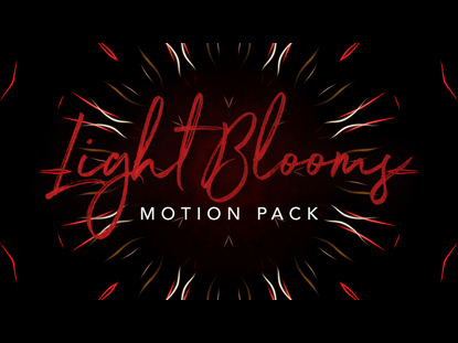LIGHT BLOOMS MOTION PACK