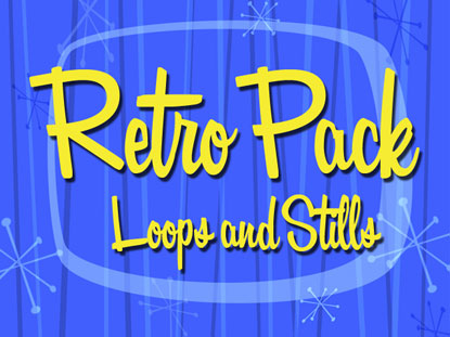 RETRO MOTION PACK: LOOPS AND STILLS