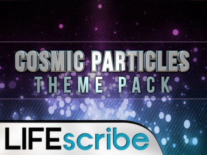 COSMIC PARTICLES THEME PACK