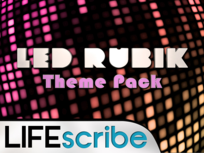 LED RUBIK THEME PACK