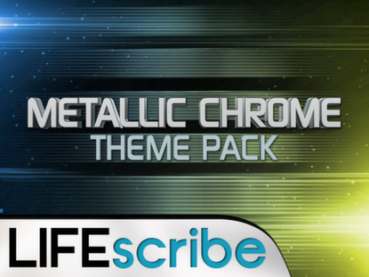 METALLIC CHROME THEME PACK