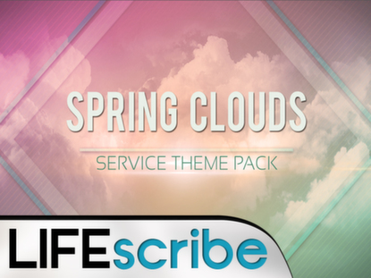 SPRING CLOUDS THEME PACK