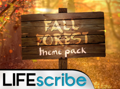 FALL FOREST THEME PACK