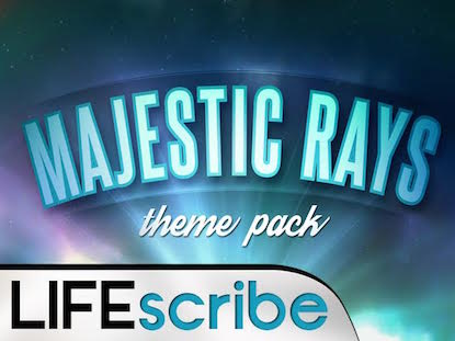 MAJESTIC RAYS THEME PACK