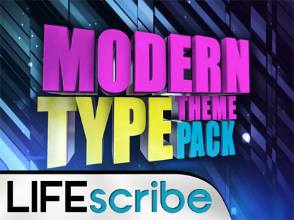 MODERN TYPE THEME PACK