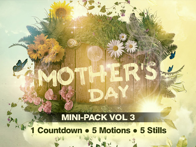 Mother's Day Mini-Pack Vol. 3