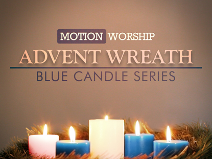 ADVENT WREATH BLUE COLLECTION