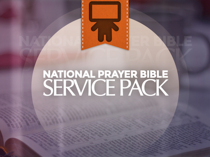 NATIONAL PRAYER BIBLE SERVICE PACK