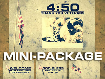 THANK YOU VETERANS MINI PACK