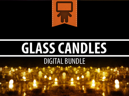 GLASS CANDLES DIGITAL BUNDLE