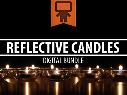REFLECTIVE CANDLES DIGITAL BUNDLE