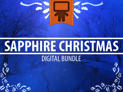 SAPPHIRE CHRISTMAS DIGITAL BUNDLE