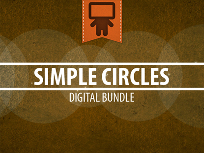 SIMPLE CIRCLES DIGITAL BUNDLES