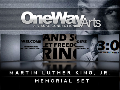 Martin Luther King Jr Memorial Set